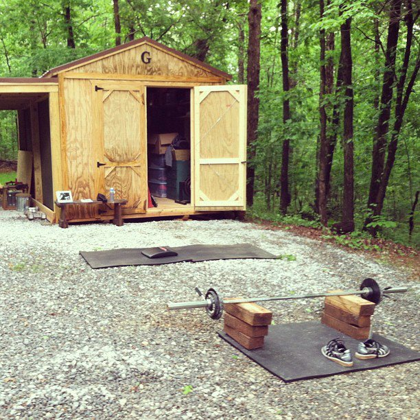 Home Gym In Shed: CrossFit RX