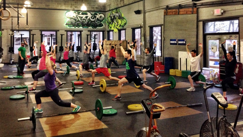 yup, its yoga (with a barbell)