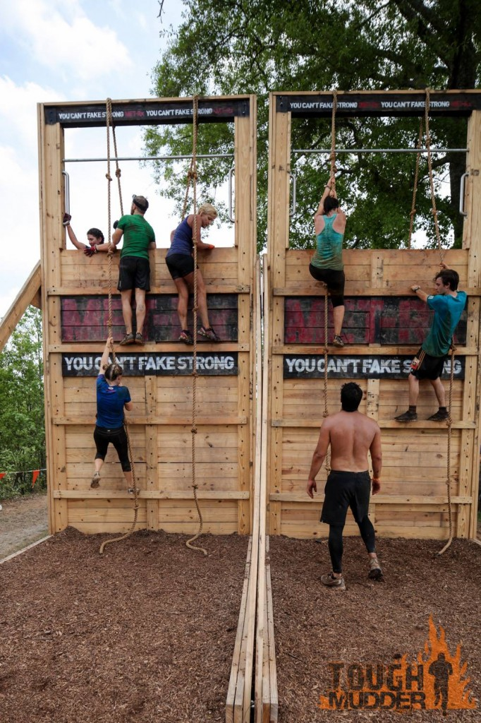 functional fitness wall climb