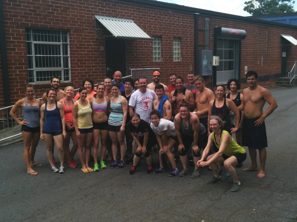Most awesome b-day WOD ever...Animal-style!