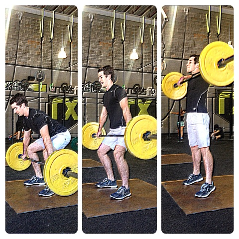 3 position pausing snatch high pull