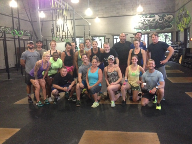 Charlie celebrates 1 year of CrossFit!!