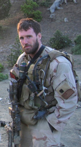 050628-N-0000X-002 Navy file photo of SEAL Lt. Michael P. Murphy, from Patchogue, N.Y. Murphy was killed by enemy forces during a reconnaissance mission, Operation Red Wing, June 28, 2005, while leading a four-man team tasked with finding a key Taliban leader in the mountainous terrain near Asadabad, Afghanistan. The team came under fire from a much larger enemy force with superior tactical position. Murphy knowingly left his position of cover to get a clear signal in order to communicate with his headquarters and was mortally wounded while exposing himself to enemy fire. While being shot and shot at, Murphy provided his units location and requested immediate support for his element. He returned to his cover position to continue the fight until finally succumbing to his wounds. U.S. Navy photo (RELEASED)